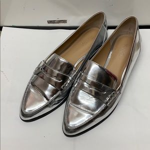 Michael Kors NEW Connor Metallic Loafers 7.5